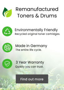 Remanufactured Toners & Drums