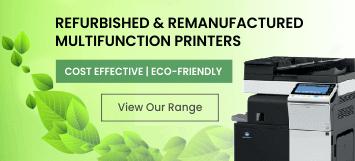 Refurbished & Remanufactured Multifunction Printers